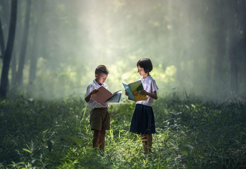 read aloud, anak